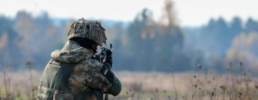 У четвер на Донбасі поранено одного військового