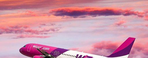 Wizz Air запустить п'ять нових напрямків з України до європейських міст